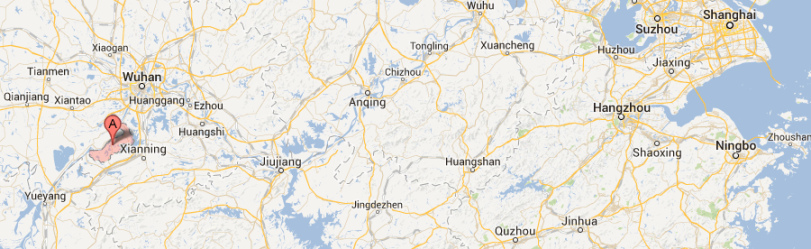 Jiayu County  Xianning  Hubei  China   Google Maps
