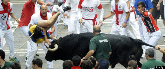 SPAIN-FESTIVAL-TOURISM-PAMPLONA